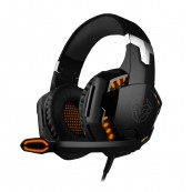 AURICULARES CON MICROFONO KROM KYUS GAMING NEGRO PS4 - PC - Inside-Pc