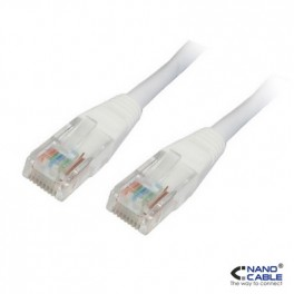 LATIGUILLO RJ45 CAT.6 UTP LSZH GRIS 3M NANOCABLE - Inside-Pc