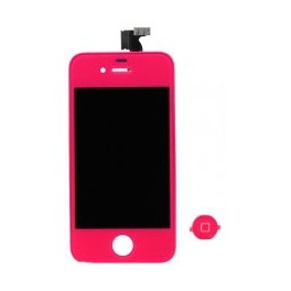 Pantalla Tactil + LCD Fucsia iPhone 4 - Inside-Pc
