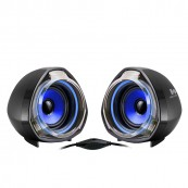 ALTAVOCES WOXTER 2.0 BIGBASS 70 USB AZUL marca WOXTER - Inside-Pc