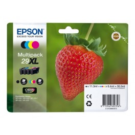 CARTUCHO EPSON T29XL PACK 4 XP-235 XP-332 XP-3 - Inside-Pc