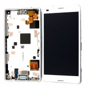 Pantalla Tactil + LCD Sony Xperia Z3 Compact D5803 Blanco - Inside-Pc