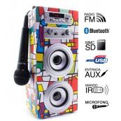 Karaoke JoyBox Bluetooth Picasso Biwond - Inside-Pc