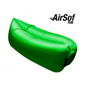 Sofá hinchable AirSof Plus Verde - Inside-Pc