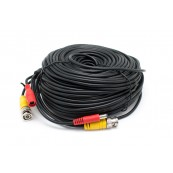 Cable Extensor Alimentacion y video Camaras Prosafe/Kguard 50 metros - Inside-Pc
