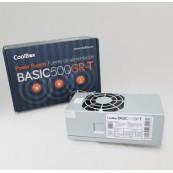 FUENTE ALIMENTACIÓN DE ALIMENTACIÓN COOLBOX TFX BASIC 500GR-T (CEROHS)  - Inside-Pc