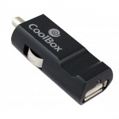 CARGADOR COOLBOX PARA COCHE - MECHERO 5V - USB 2.1A - Inside-Pc