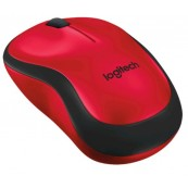 LOGITECH WIRELESS MOUSE M220 SILENT PLUS RED - Inside-Pc