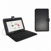 "FUNDA TABLET APPROX + TECLADO 10.1"" MICRO USB - Inside-Pc"