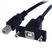 STARTECH CABLE USB MONTAJE EN PANEL USB-B A USB-B - Inside-Pc