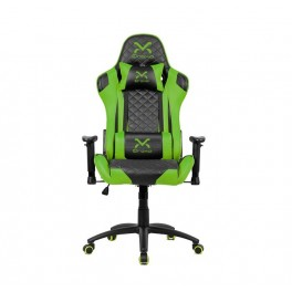 SILLA GAMING DROXIO TROUN NEGRA VERDE - Inside-Pc