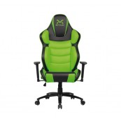 SILLA GAMING DROXIO TROUN-PRO NEGRA VERDE - Inside-Pc