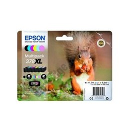 MULTIPACK TINTA EPSON T37884 6 COLORES FOTO CLARIA 378XL - Inside-Pc