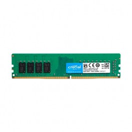 MEMORIA RAM MODULO DDR4 8GB PC2400 CRUCIAL CT8G4DFS824A RETAIL - Inside-Pc