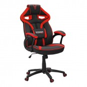 SILLA GAMER WOXTER STINGER ALIEN ROJA - Inside-Pc