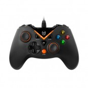 GAMEPAD - MANDO KROM KEY Ordenador PS3 NEGRO/NARANJA - Inside-Pc