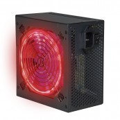 POWER SUPPLY GAMING PHOENIX 600W ATX - 12CM LED LIGHTS - SILENT - PFC ACTIVE - BLACK - Inside-Pc