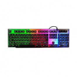 TECLADO THE G-LAB GAMING KEYZ-NEON/SP MULTICOLOR - Inside-Pc
