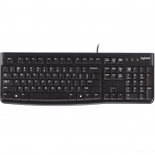 TECLADO LOGITECH K120 USB NEGRO FRANCES - Inside-Pc