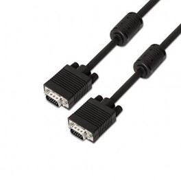CABLE VGA FERRITA DB15 AISENS 10M NEGRO - Inside-Pc