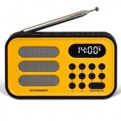 RADIO DIGITAL SCHNEIDER HANDY MINI AMARILLO - Inside-Pc
