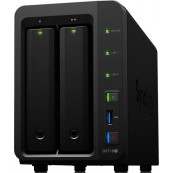 SERVIDOR NAS SYNOLOGY DISK STATION DS718+ - 2GB - 2 BAHÍAS - RAID - ETHERNET GIGABIT - Inside-Pc