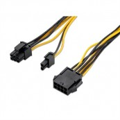 CABLE TARJETA GRAFICA PCI-E - MOLEX 8 PINES- H - PCI-E MOLEX 6+2 PIN H - Inside-Pc