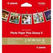 PAPEL FOTO CANON PP-201 2311B060 A4 13X13 - 20 HOJAS - Inside-Pc