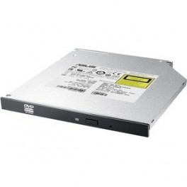 REGRABADORA DVD INTERNA ASUS SLIM SDRW-08U1MT NEGRA 9.5MM - Inside-Pc