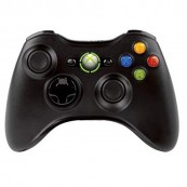 Mando Inalambrico XBOX 360 Negro - Inside-Pc