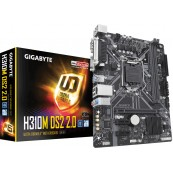PLACA BASE 1151 INTEL GIGABYTE H310M-DS2 DDR4 GEN8 GEN9 - Inside-Pc