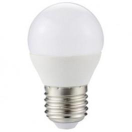 LED LIGHT KODAK SPHERICAL G45 - E27 - 480LUM - WARM 3000K - 6W - NOT ADJUSTABLE - Inside-Pc