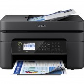 IMPRESORA MULTIFUNCIÓN EPSON WF- 2850DWF WORKFORCE FAX - A4 - 33PPM - USB - WIFI - DÚPLEX IMPRESIÓN - LCD - ADF - Inside-Pc