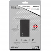 DISCO DURO EXTERNO SSD PNY CS1050 480GB USB3.1 NEGRO - Inside-Pc