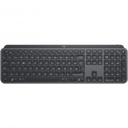 WIRELESS KEYBOARD LOGITECH MX KEYS BLUETOOTH SPANISH - Inside-Pc